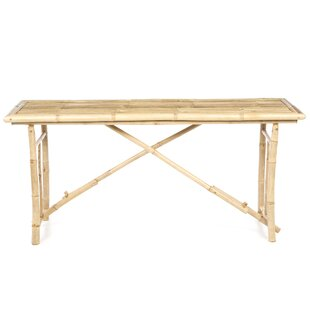 Porter Long Folding Bamboo Console Table