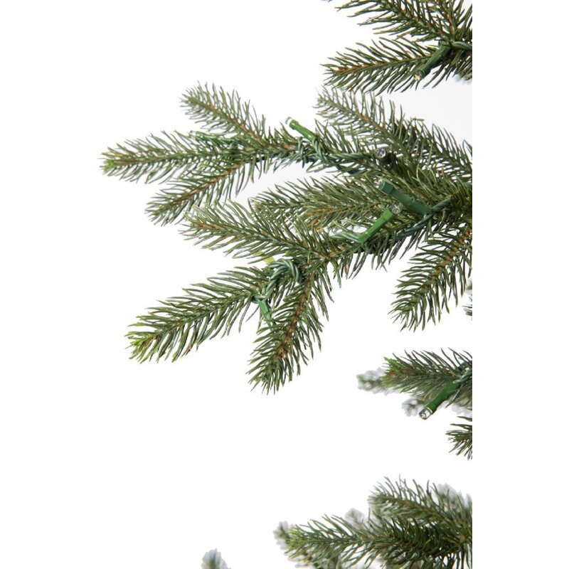 Nordic Fir Artificial Christmas Tree with Warm White Lights with Remote - The Holiday Aisle Nordic Fir Artificial Christmas Tree With Warm
