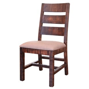 Coralie Solid Wood Dining Chair (Set of 2) Gracie Oaks