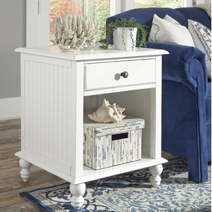 Witherspoon End Table With Storage By Rosecliff Heights