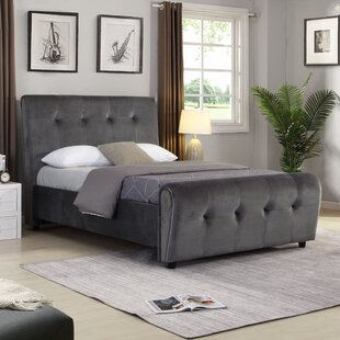 Merlemont Upholstered Bed Frame By Canora Grey