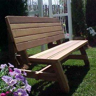 Herman Convertible Garden Bench