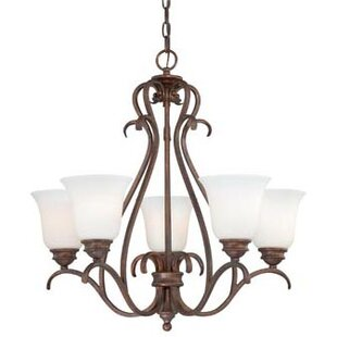 Red Barrel Studio Elayne 5-Light Shaded Chandelier
