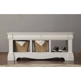 Trejo Wood Storage Bench by One Allium Way