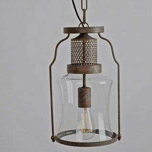 Gracie Oaks Caffrey 1-Light Pendant
