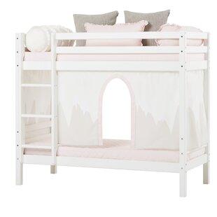 Basic Winter Wonderland Bunk Bed With Curtain By Hoppekids