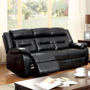 Compare Brecken Reclining Sofa by Hokku Designs