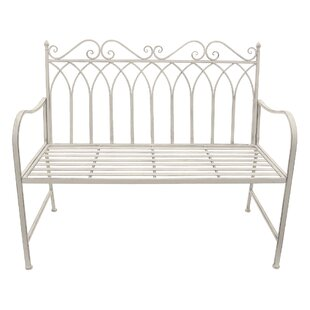 Crase Metal Garden Bench