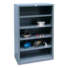 Closed Four Shelf Shelving Unit by Strong Hold Products