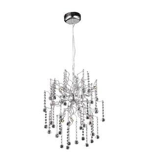 Everly Quinn Verda 6-Light Sputnik Chandelier