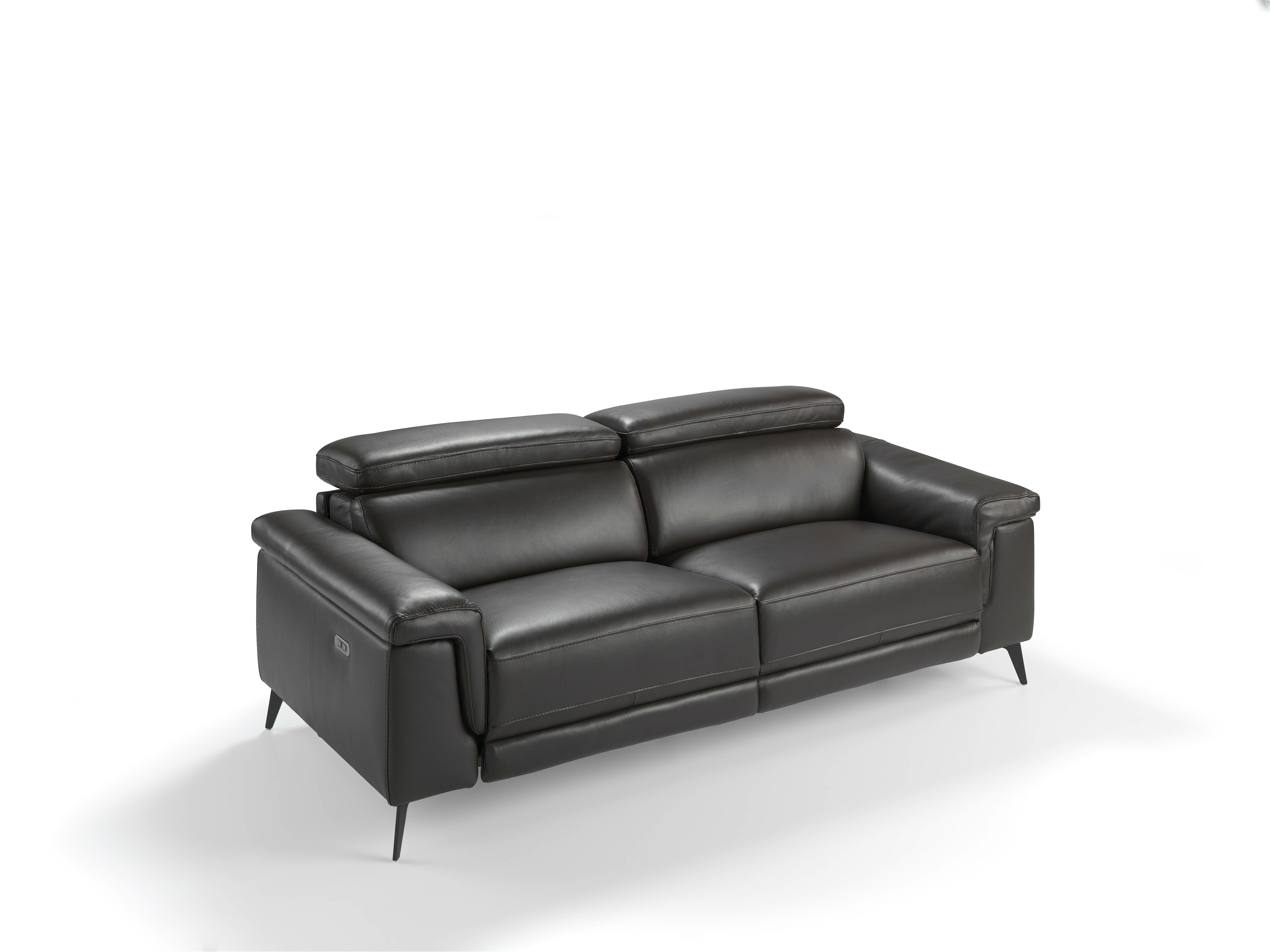 Ebeling Genuine Leather Upholstered