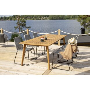 Beatrice 6 Seater Dining Set By Fjørde & Co