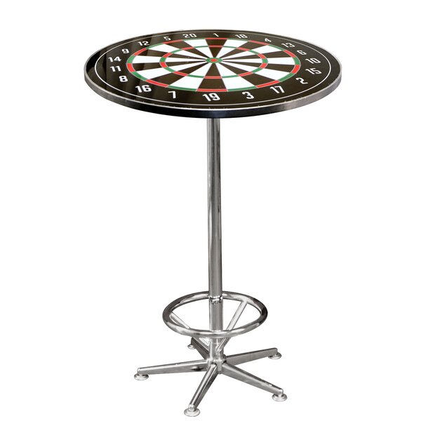 On The Edge Marketing Dart Board Pub Table | Wayfair