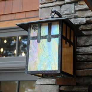 Best Price 1-Light Outdoor Wall Lantern By Meyda Tiffany