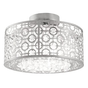 Willa Arlo Interiors Westphal 3-Light Semi Flush Mount