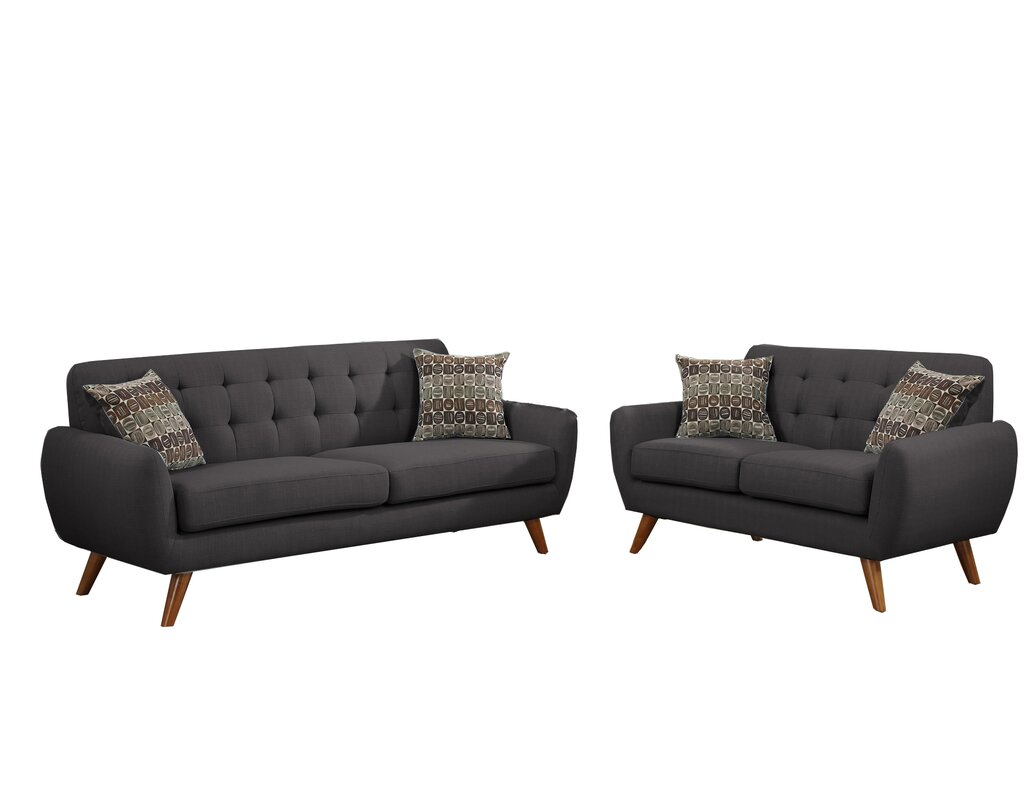 Wooten 2 Piece Living Room Set & Reviews   AllModern