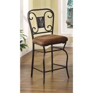 Basil Bar Stool (Set of 2) Fleur De Lis Living