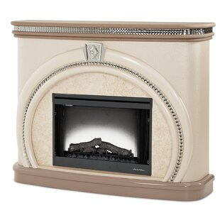 Overture Electric Fireplace by Michael Amini