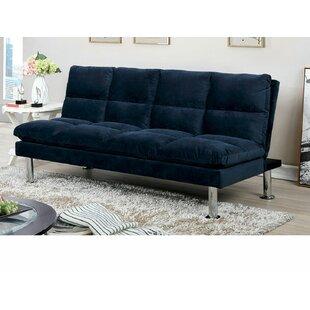 Pallesen Twin Or Smaller Tufted Back Convertible Sofa By Latitude Run