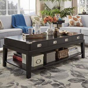 Boulder Brook Coffee Table by Three Posts