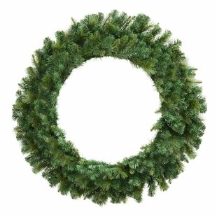 Brussels 107cm Mixed Pine Christmas Wreath By The Seasonal Aisle