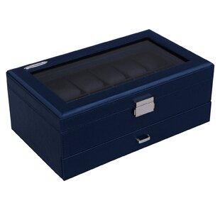 Compare & Buy 12 Piece Watch/Jewelry Organizer Box ByAlcott Hill