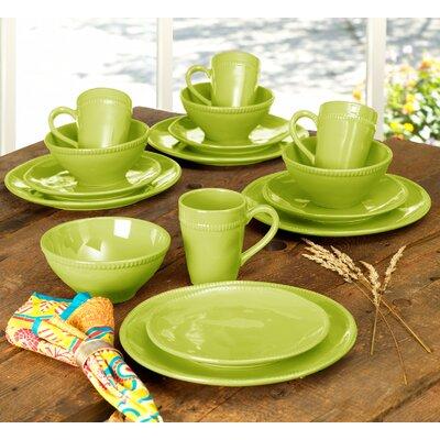Euro Ceramica Al Garve 16 Piece Dinnerware Set, Service for 4