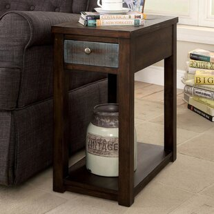 Pranav End Table with Storage by Loon Peak