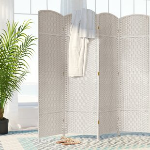 Price Check Nowayton 4 Panel Room Divider By Bay Isle Home