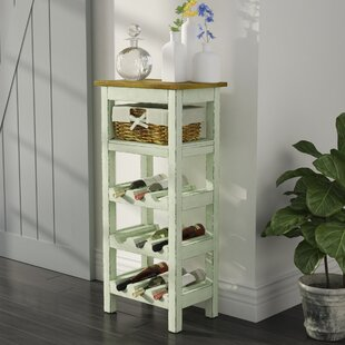 Lark Manor Pervenche 9 Bottle Floor Wine Rack