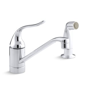 Kohler Coralais Two-Hole Kitchen Sink Faucet with 8-1/2