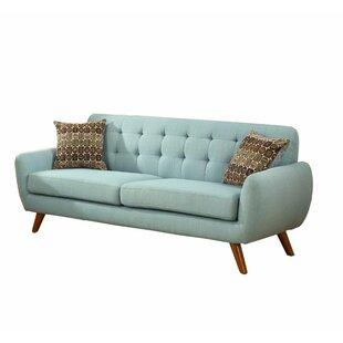 Infini Furnishings Retro 2 Piece Living Room Set