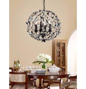 Ophelia & Co. Maysville 4-Light Globe Cha..