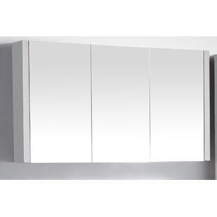 Compare prices Labrador 46 x 26 Surface Mount Medicine Cabinet By Orren Ellis