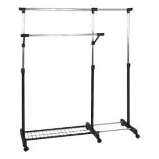 Maiziea 160cm Wide Clothes Rack By House Additions