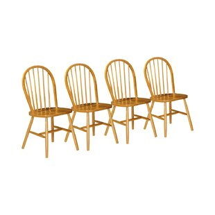 Goku Solid Wood Dining Chair (Set Of 4) By Brambly Cottage