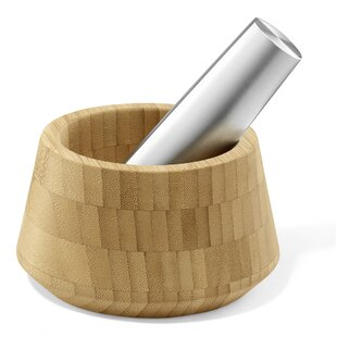 Opeso 2 Piece Mortar and Pestle Set