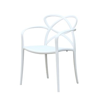 Dufferin Stacking Patio Dining Chair (Set of 2)