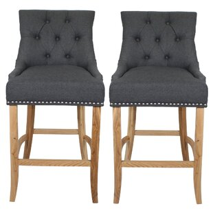 Javier 71cm Barstool (Set Of 2) By August Grove
