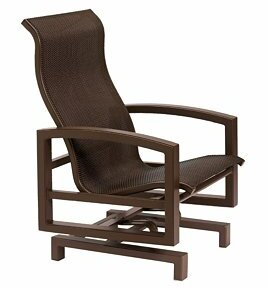 Tropitone Lakeside Sling Action Patio Chair