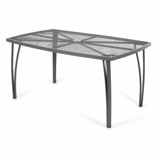 Tang Steel Dining Table By Mercury Row