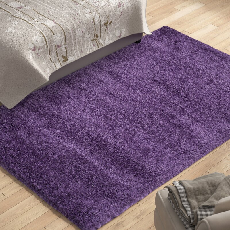 Caryn Purple Area Rug