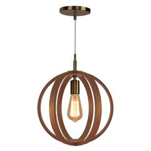 Celestial 1-Light Pendant by Woodbridge Lighting