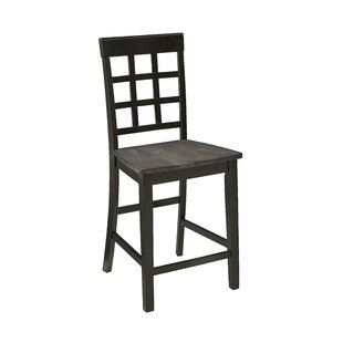 Upshaw Window Pane 24 Bar Stool (Set Of 2) by Gracie Oaks Cheap