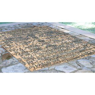 Ronan Tabriz Blue/Ivory Indoor/Outdoor Area Rug