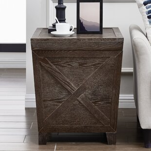 Taconite End Table with Storage