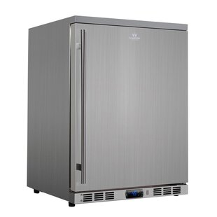 23.4-inch 4.34 cu. ft. Undercounter Compact Refrigerator by Kingsbottle