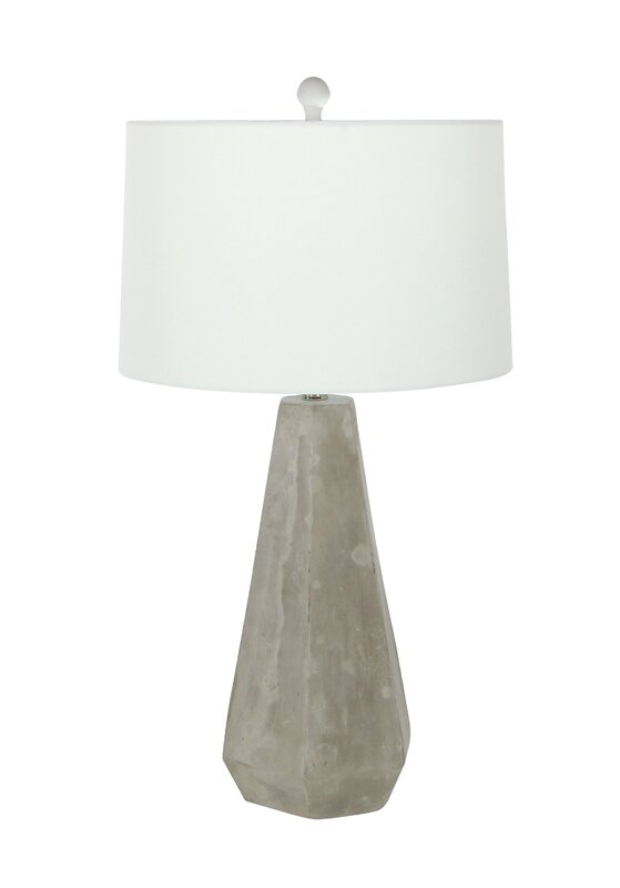 Cement 28 table lamp