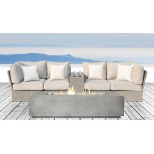 Winsford 6 Piece Sofa Set with Cushions
