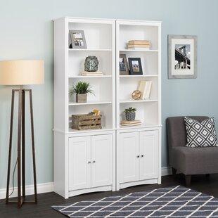 Hopwood Standard Bookcase by Highland Dunes